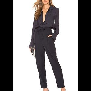 NEW | Equipment Andrea Jumpsuit Washed Satin 4
